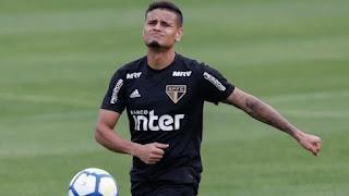 Atacante Everton tem nova lesão e desfalcará São Paulo