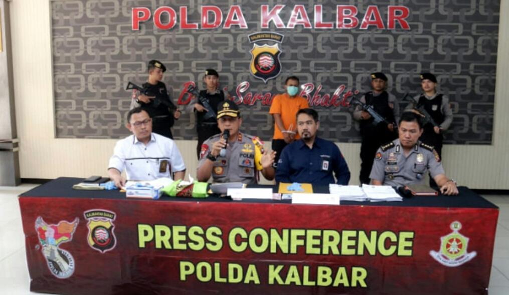 Polda Kalbar Berhasil Ungkap Kasus Penipuan Pinjaman Online
