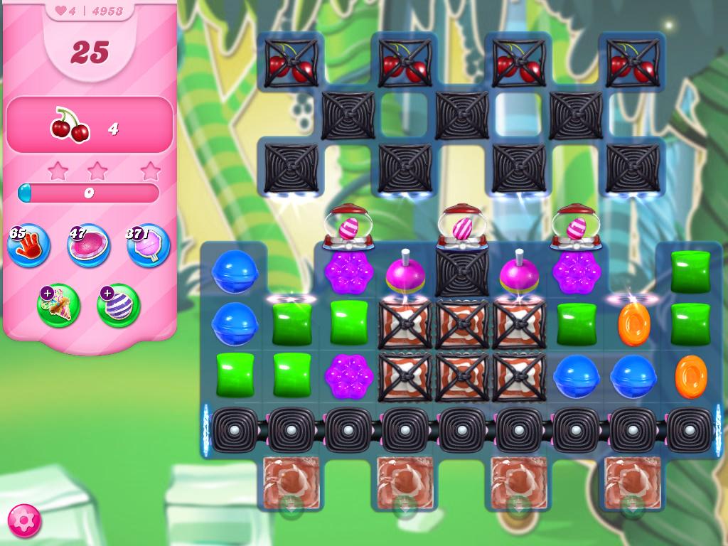Candy Crush Saga level 4953