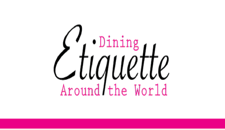 Dining Etiquette Around the World #infographic