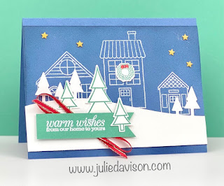Stampin' Up! Coming Home ~ Trimming the Town Suite ~ www.juliedavison.com #stampinup