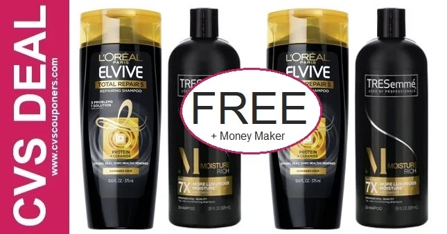 FREE L'Oreal Shampoo CVS Deal 5-9-5-15