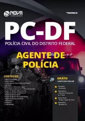 Apostila Concurso PC DF 2020 Agente de Polícia Grátis Cursos Online
