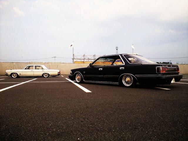 Nissan Cedric Y30, klasyczne sedany, stare auta