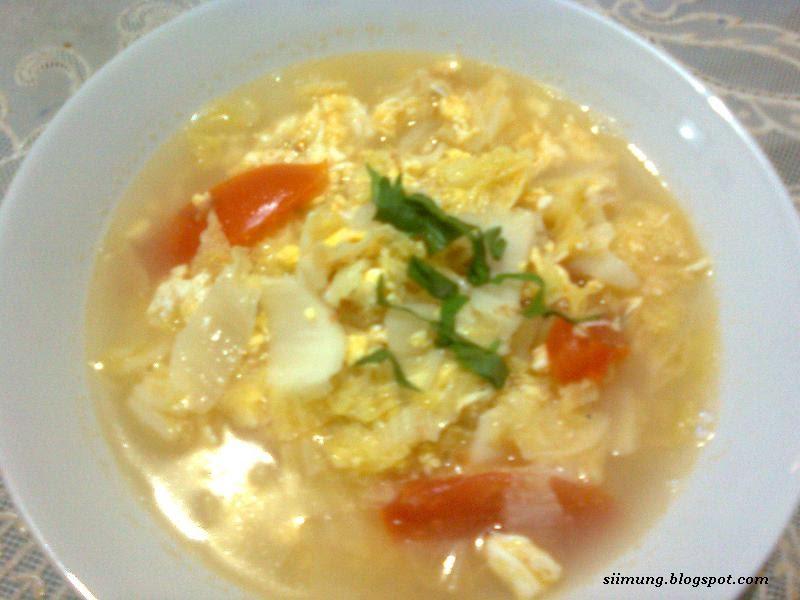 Putih Telur Masak Kecap
