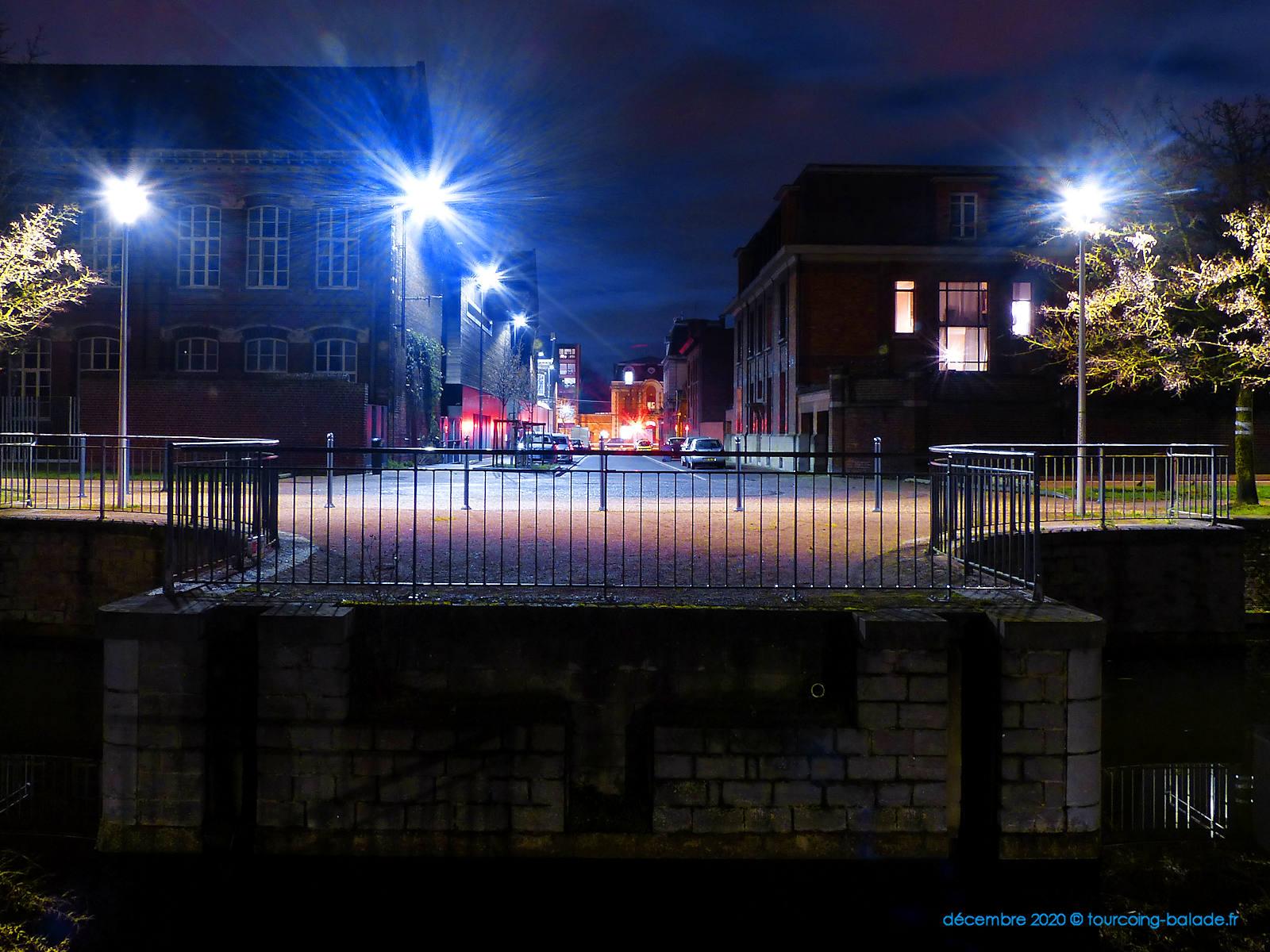 Tourcoing Nuit 2020 - Rue des Quais