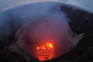 Pele slipping upslope to Mauna Loa, pumping magma,  USGS raises caution level yellow