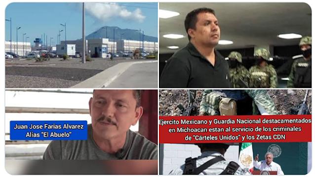 Que El Abuelo Farías de Cárteles Unidos intento rescatar a El Z-40 en Buena Vista Michoacán para combatir a El CJNG
