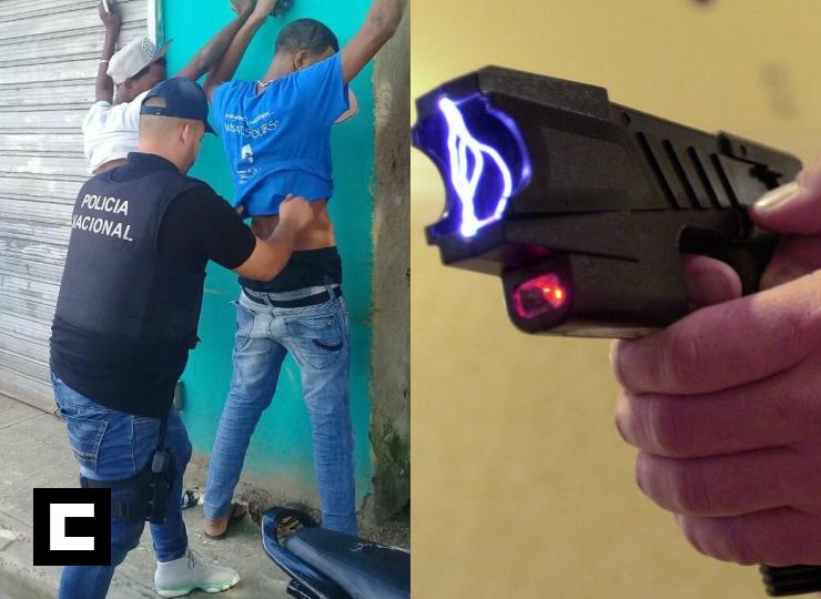 Agentes DICAN andarán con cámaras y usarán pistolas taser (corrientazo)