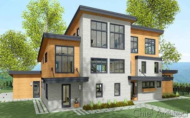 Chief Architect Premier X11 cr@ck -  Tạo mô hình 3D cho nhà ở