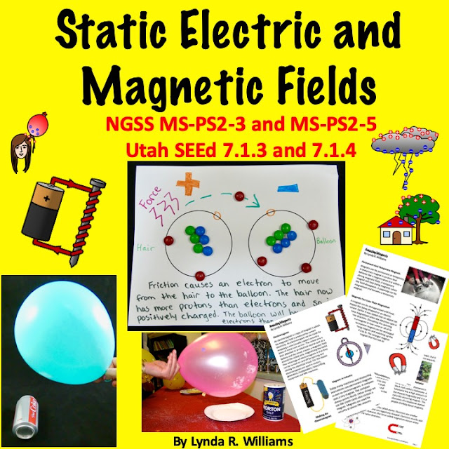 Static Electricity Middle School Unit