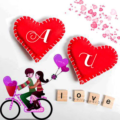 A Letter Love Dpz with Combination of Alphabets Couple Pics