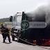VÍDEO: CAMINHÃO DE LIXO DE OURINHOS PEGA FOGO NA TARDE DE TERÇA-FEIRA