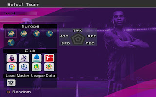New Graphic Menu Like PES 2020 for pes 6