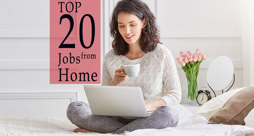 top 20 high paying jobs from home