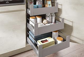 Sistemas de almacenamiento para cocinas