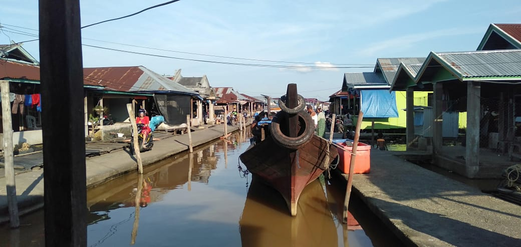 Warga Garansikan Kemenangan R2 di Kampung Nelayan Nipah Panjang