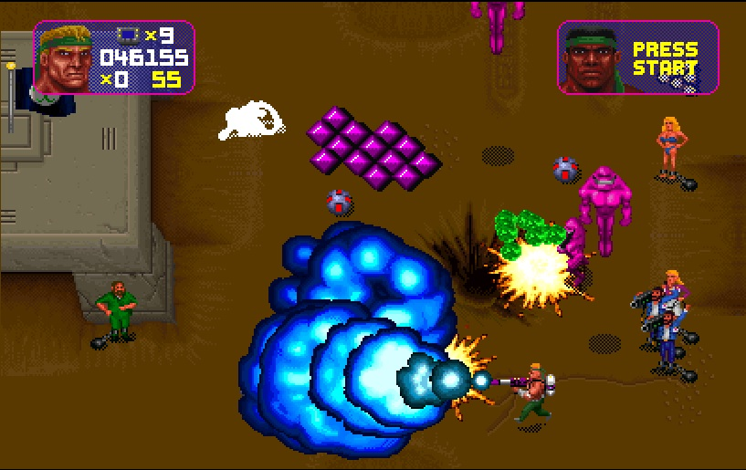 Total Carnage - Arcade