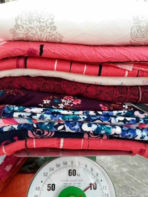 Các set vải khúc cotton hình xuất hàn đang bán tại Đồng Nai