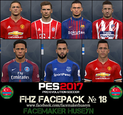 PES 2017 FHZ Big Facepack №18 by Facemaker Huseyn