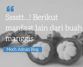 Sssstt…! Berikut manfaat lain dari buah manggis