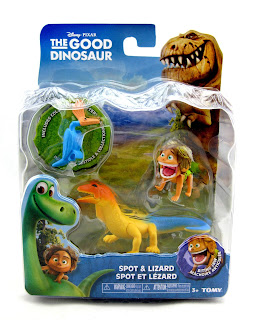 tomy the good dinosaur spot lizard