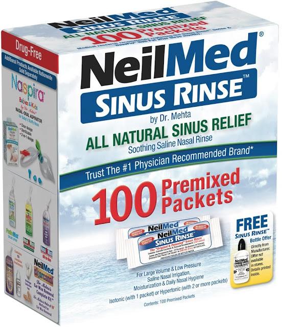 Neilmed Sinus Rinse 100 Pack