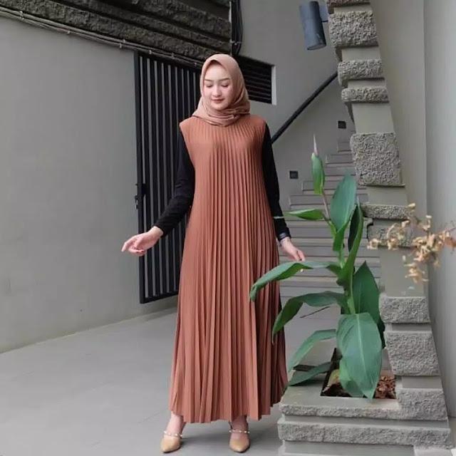 Home Dress Motif Short Sleeve