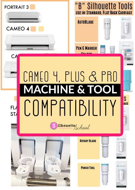 "silhouette 101, silhouette america blog, cameo 4 blades, 20"" silhouette CAMEO pro, cameo 4 tools"
