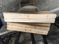 2X4 boards with grooves