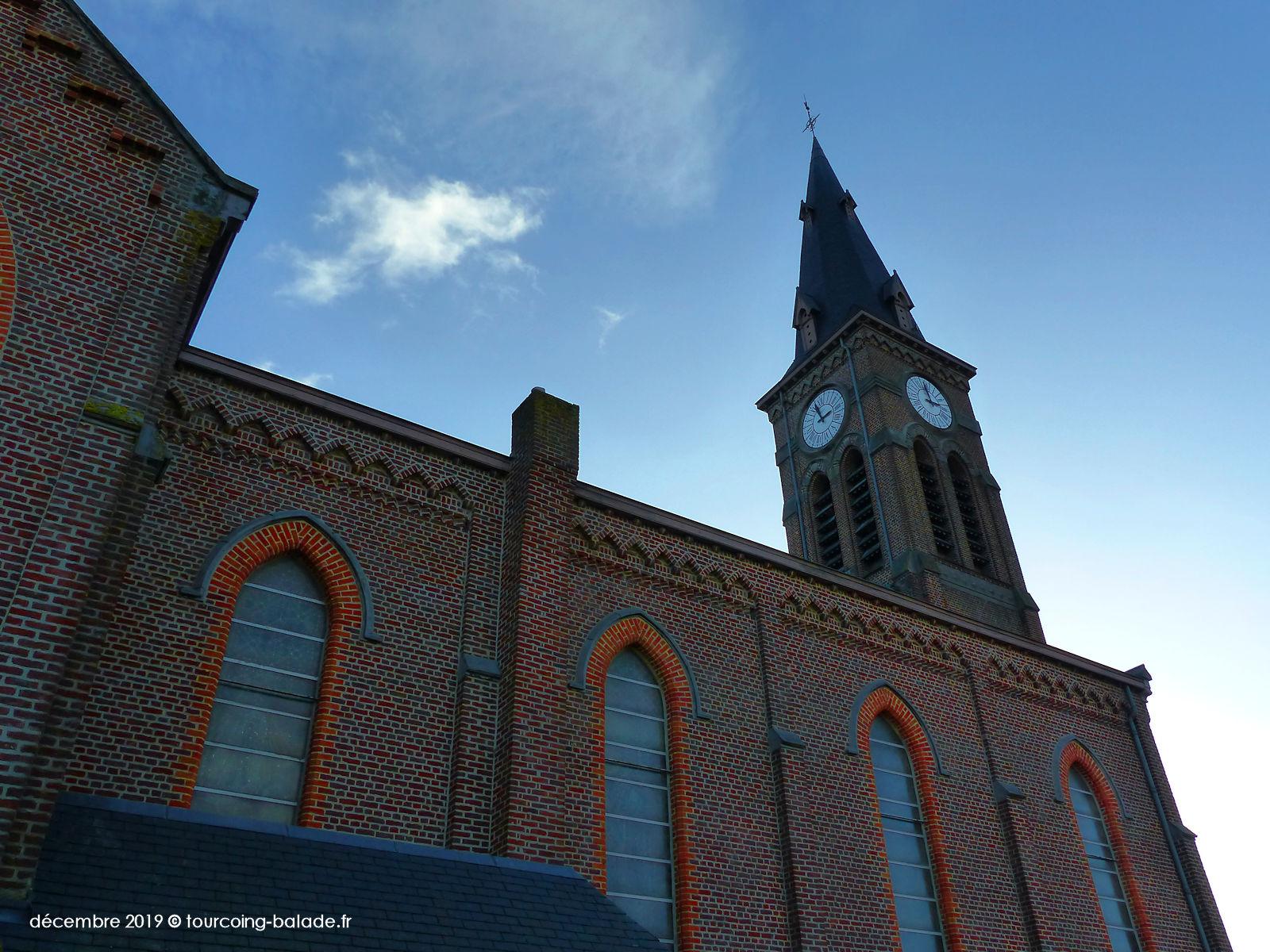 Église Saint-Alphonse, Halluin 2019