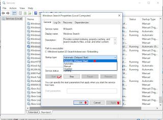 Menu Pencarian Windows 10 Tidak Berfungsi