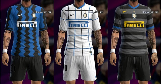 2013 ultigamerz: Inter PES Kits Milan 2020-2021 Leaked