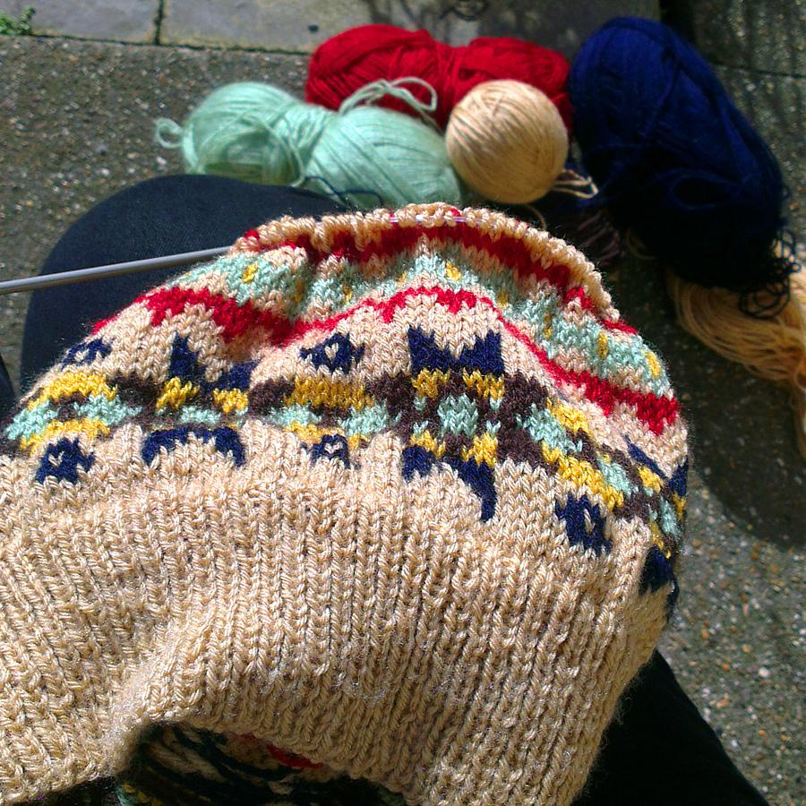 Wartime Farm Pullover Knitting