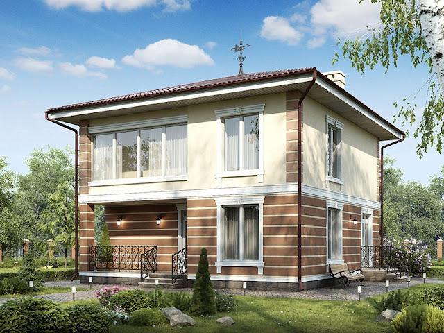 готовые каркасные дома