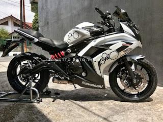 Jual Kawasaki ninja ER6F putih F bogor