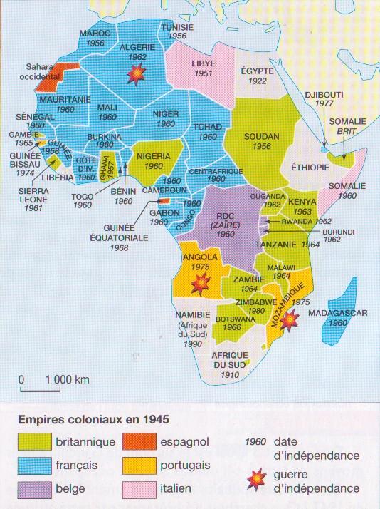 Histoire1011 Cartes D Afrique