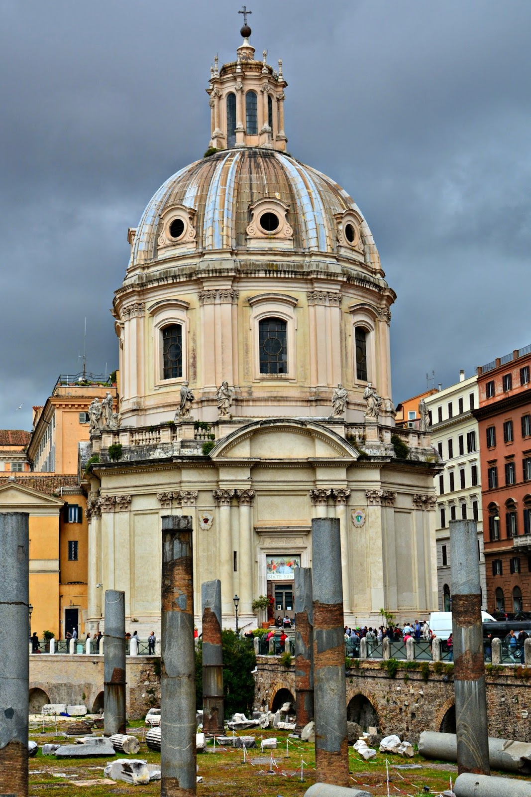 Church in Rome, Italy