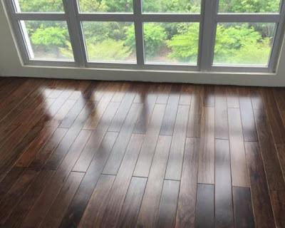 Sàn gỗ chiu liu cho không gian phòng ngủ hiện đại