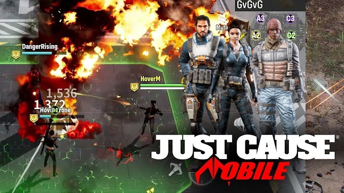 Just Cause Mobile : Multiplayer Free to Play Action Shooter Game by Square Enix