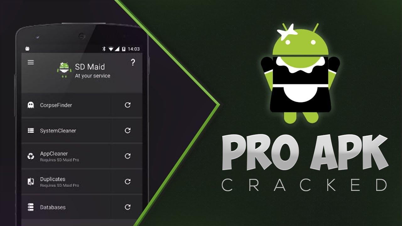SD Maid Pro Cracked APK 4 14 29 [Latest Version] ~ Modded