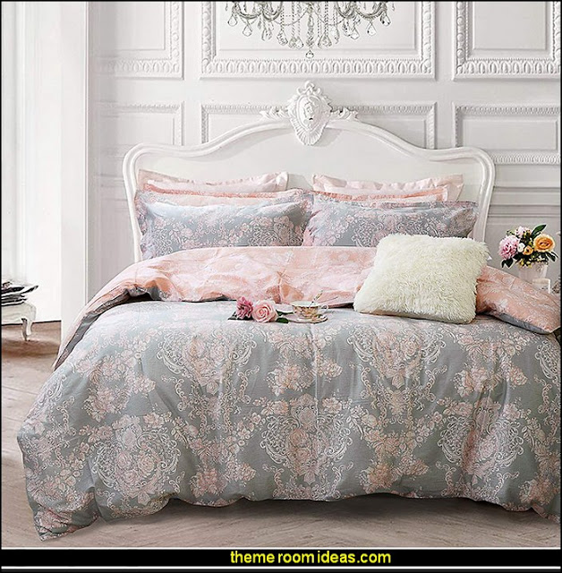 Blush Pink Grey Bedding  Blush pink decorating - blush pink decor - blush and gold decor - blush pink and gold bedroom decor -  blush pink gold baby girl nursery furniture - blush art prints - rose gold bedroom decor -  blush black bedroom decor - blush mint green decor - Blush Black Gold Glitter home decor - Blush Pink furniture - marble murals