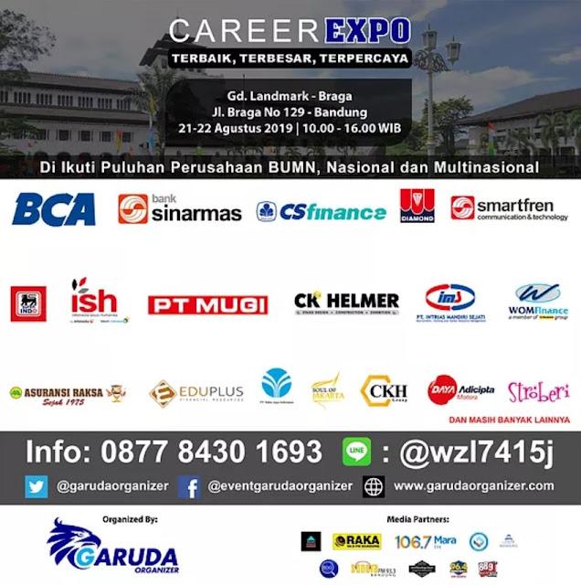 Mega Career Expo Bandung Bulan Agustus 2019