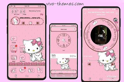 Charmmy Kitty Theme For Vivo Android Phones (Full Theme)