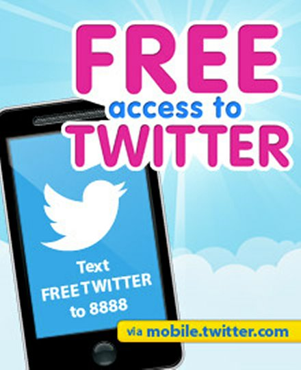 Globe Offers Free Twitter Access to Subscribers