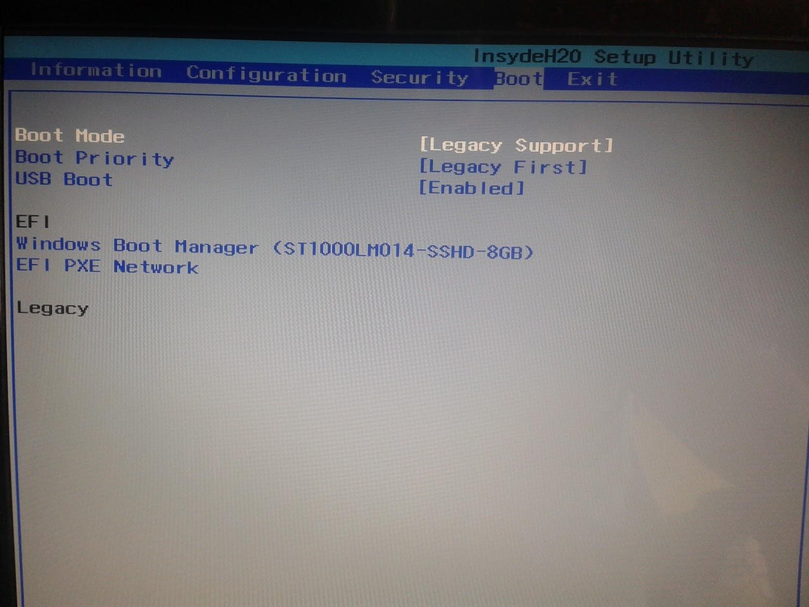 Enabling DVD boot for Lenovo G70-35 | Andys IT Blog