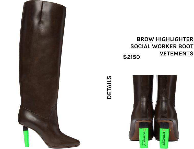 Highlight Heel Boot Trend