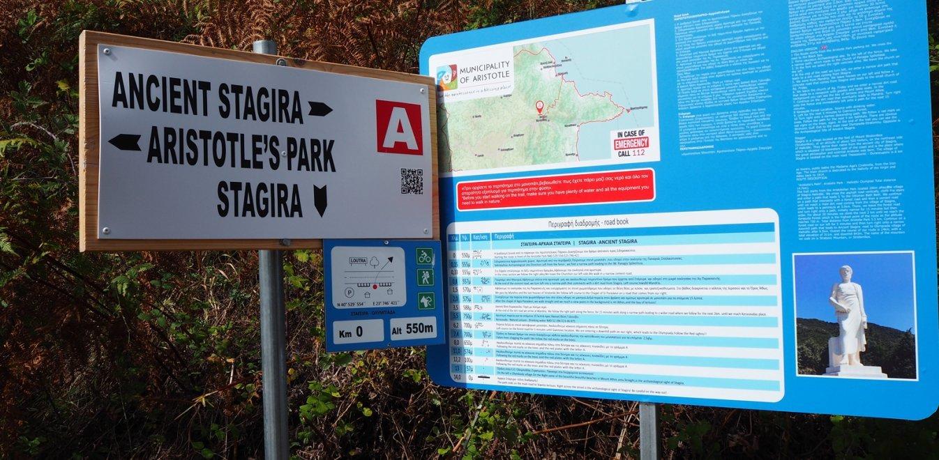 0 Δήμος Αριστοτέλη: Στον παγκόσμιο χάρτη του περιπατητικού τουρισμού