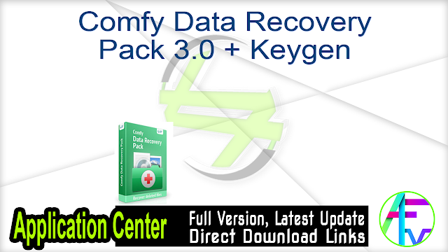 Comfy Data Recovery Pack 3.0 + Keygen