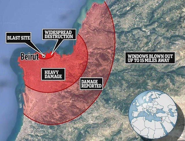 Ledakan Beirut dan Pelajaran bagi yang Sering Ceroboh, Tolong Cek Tabung Gasmu!